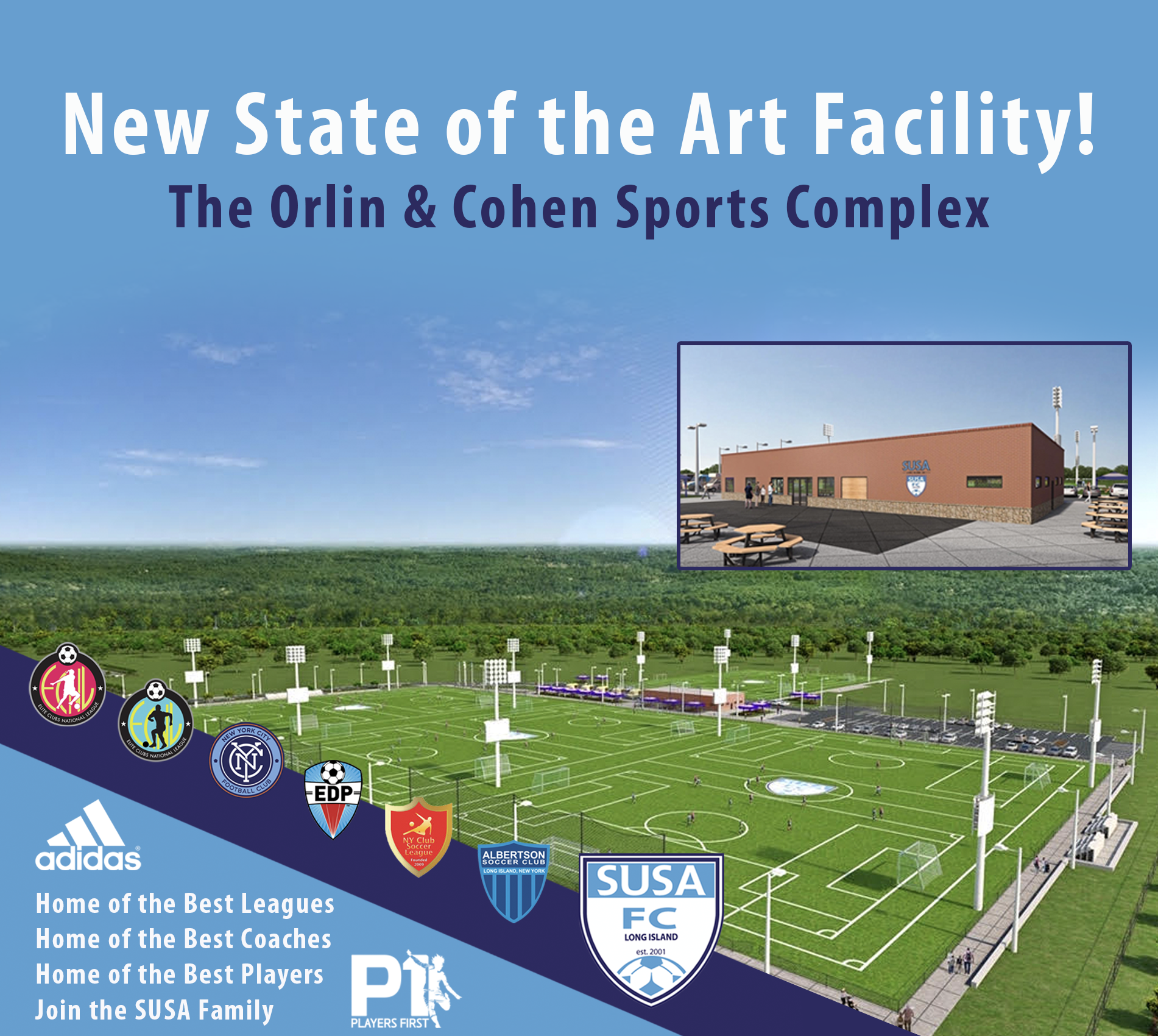 State of the art facility!