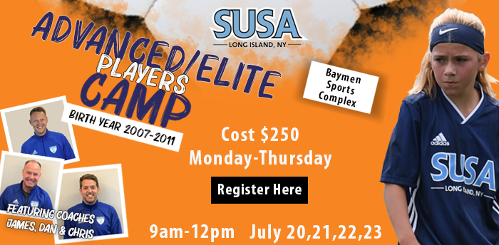 advanced/elite players camp flyer
