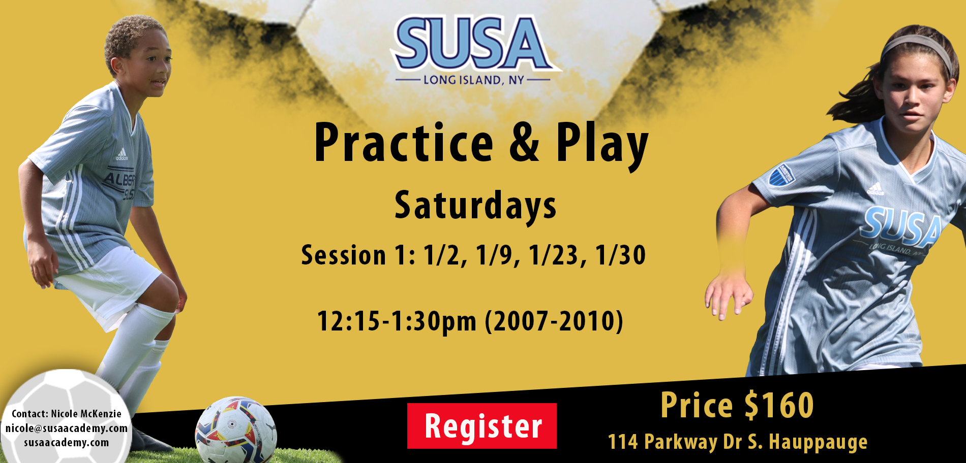 Practice and Play Saturdays